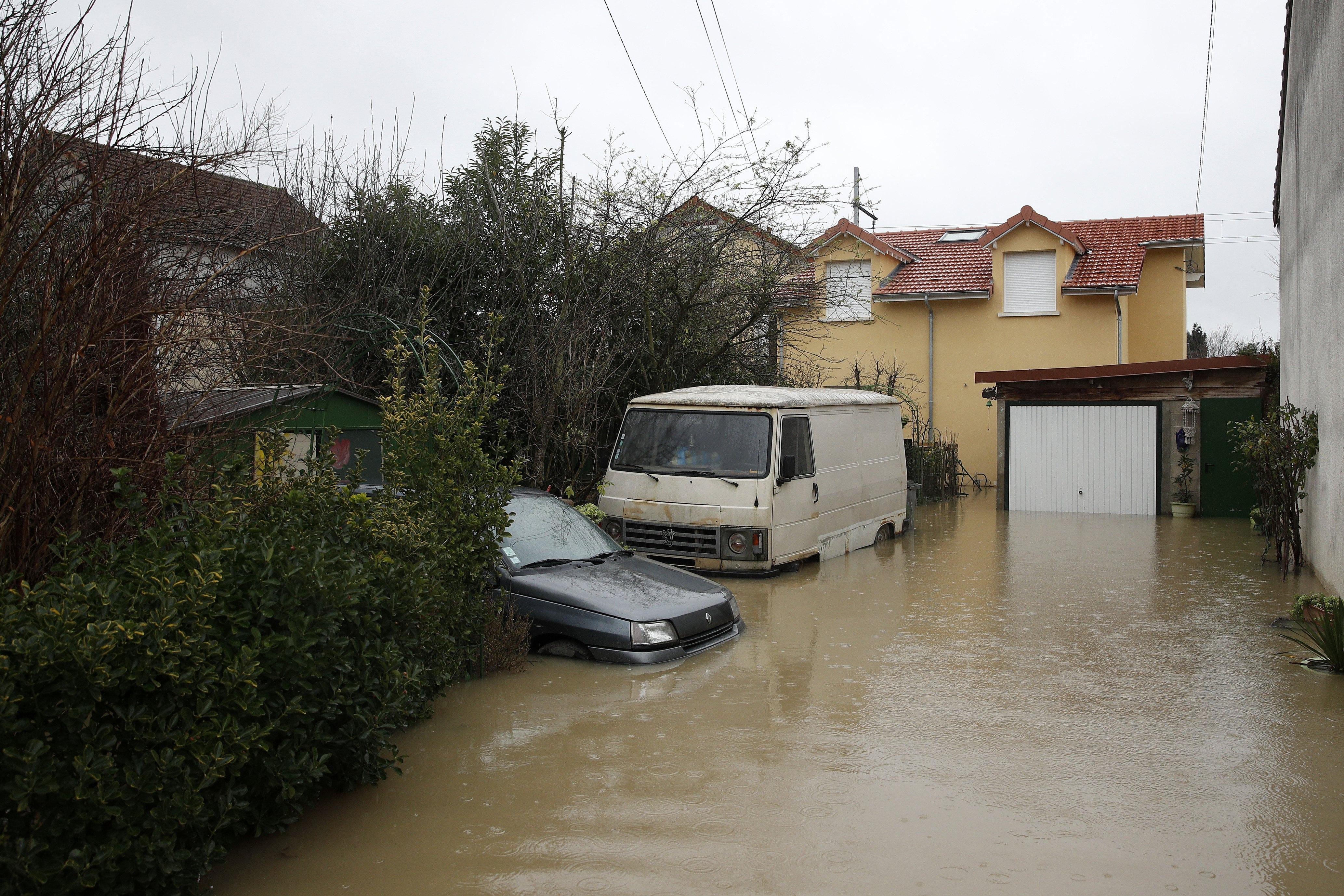 Major flood in the Ile-de-France region